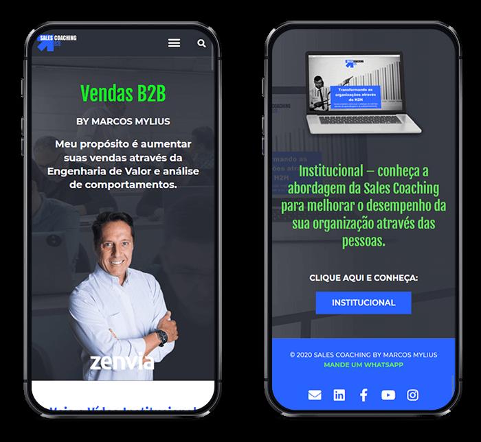 Site Sales Coaching por Lubna Producão Digital